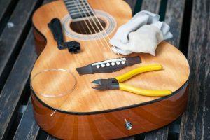 konserwacja gitary
